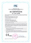 Европейский сертификат для косметического препарата Renaissance