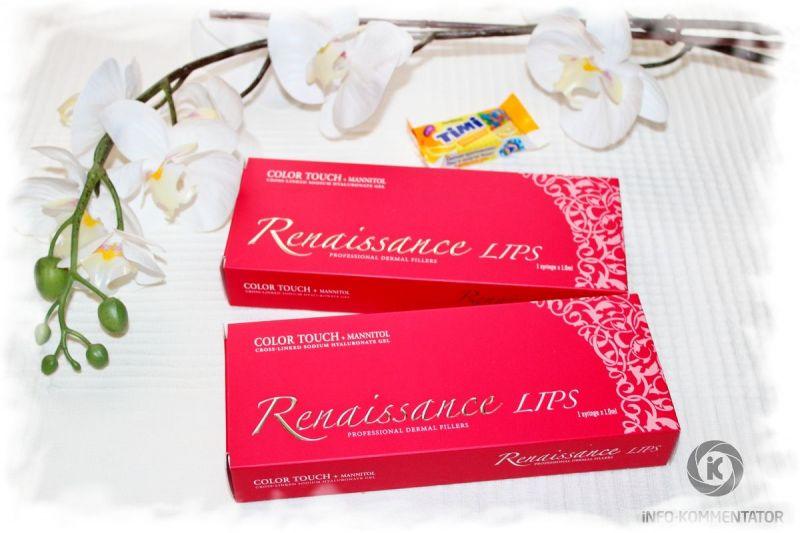 Филлер (filler) Renaissance Lips Color Touch для губ (идеальные формы и объем губ)