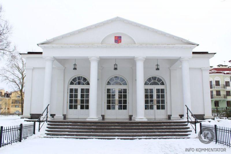Софийский павильон в городе Пушкин (Царское Село, г. Санкт-Петербург)