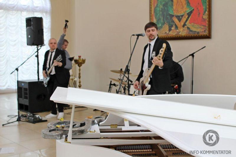 Концертно-выставочная площадка в Софийском павильоне в Пушкине