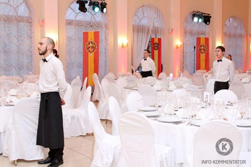 Проведение корпоративного праздника в Софийском павильоне в Пушкине