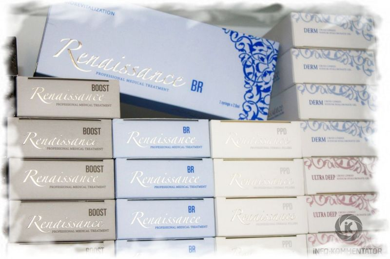 Филлеры Renaissance (Ренессанс): профессиональные препараты в сфере косметологии