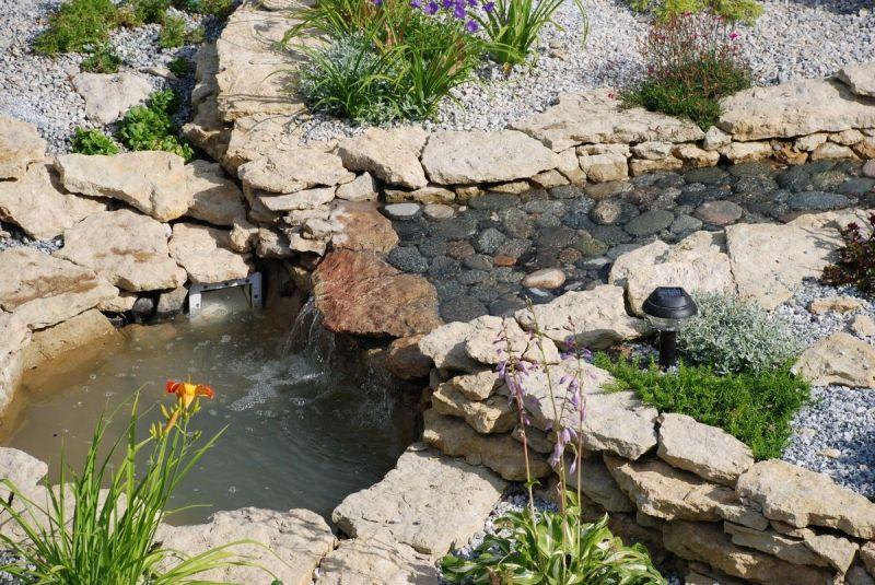Водоснабжение загородного дома (коттеджа) в Ленинградской области (Ленобласти): создание фонтана