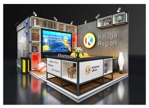 Выставочный стенд Калужской области на ИННОПРОМ 2019
